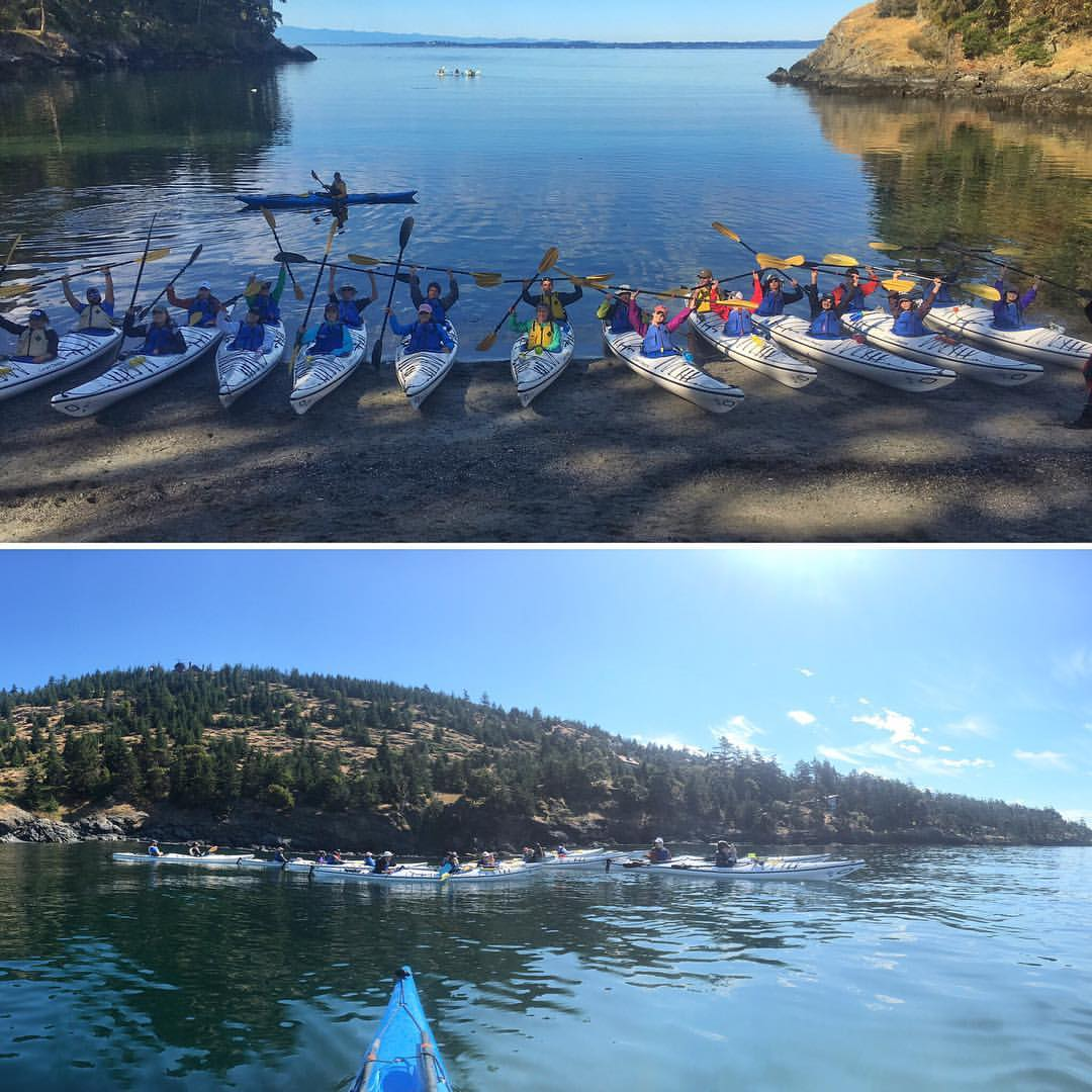 Kayak Touring San Juan Island