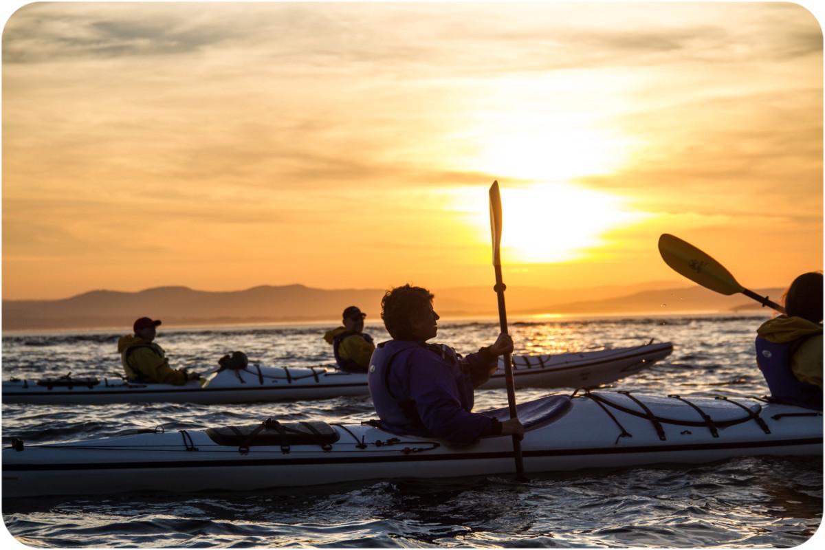 Kayaking Sunset Tours