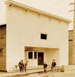 Fribor Theatre, c. 1915. Historicfridayharbor.org accessed June 10, 2015.