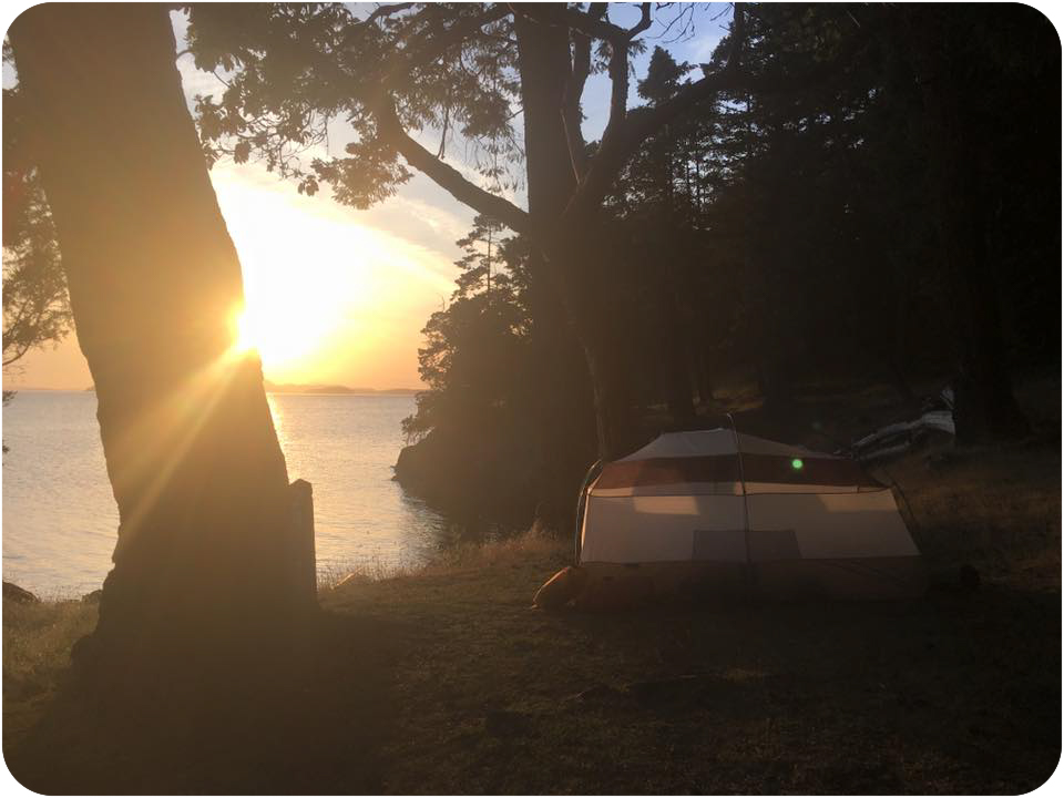 Camping San Juan Island