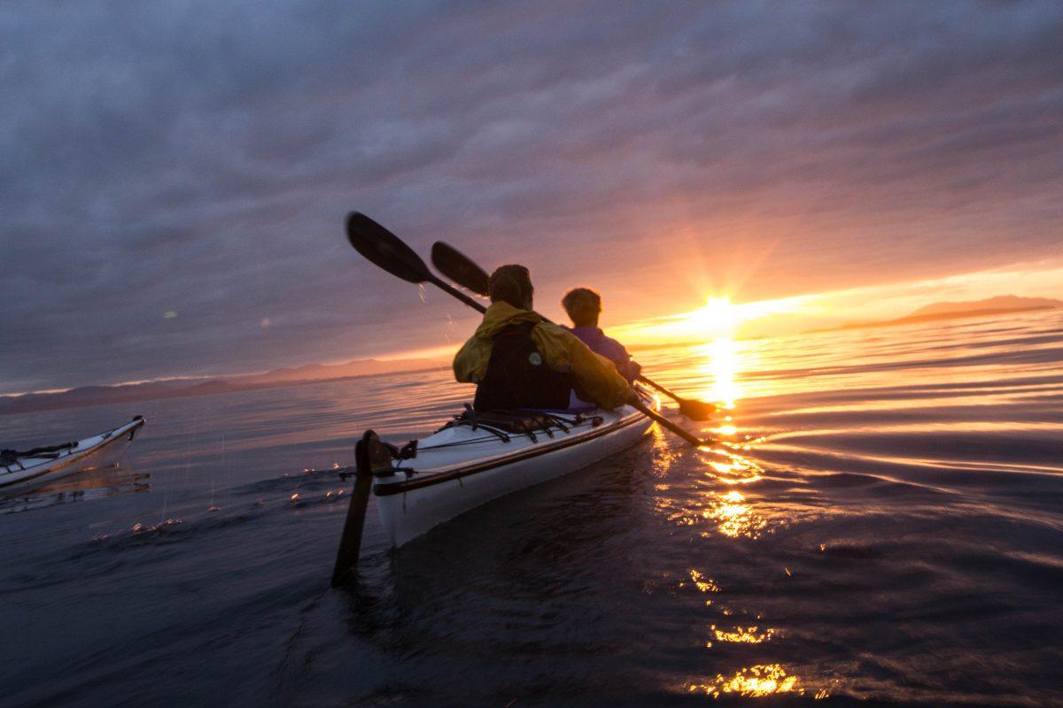 Bioluminescence Kayaking San Juan Island, WA- Discovery Sea