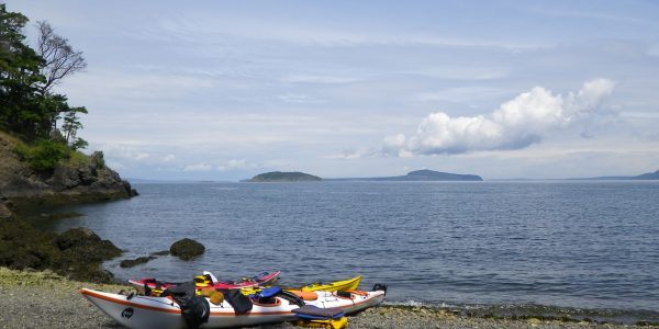 Sea kayaking San Juan Islands